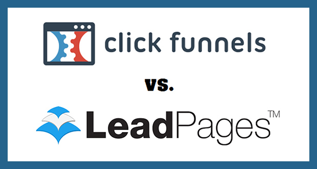 one man gang clickfunnels vs lead pages 2017 comparison one man gang